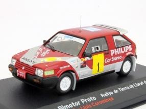 1290  Seat Ibiza  Bimotor Rallye Lloret de Mar 1988