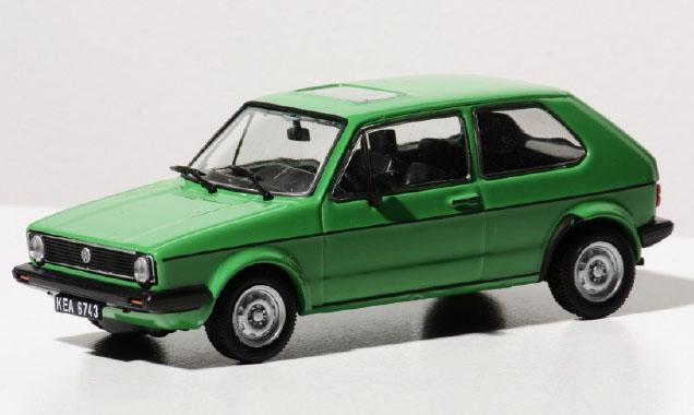 1373  Volkswagen Golf 1  groen