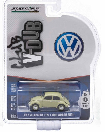 29790C  Volkswagen T1 split window 1952 groen