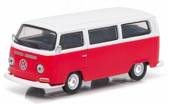 29790D  Volkswagen T2  Bus 1968  rood/wit