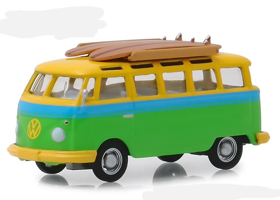 29960B  Volkswagen Samba Bus 1964 with Surfboards
