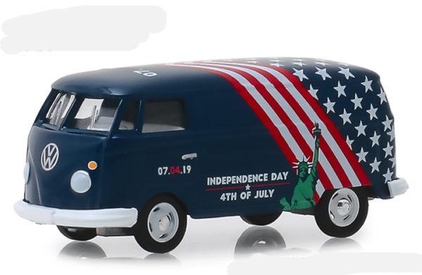 30044  Volkswagen T2 Paneel Van Onafhankelijkheid Dag