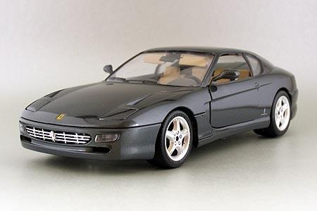 3036D 1/18 Ferrari 456 GT 1992 Sonderlackierung (grijs metal