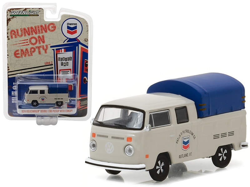 41020E  1974 Volkswagen T2 Double Cab Pickup with Canopy