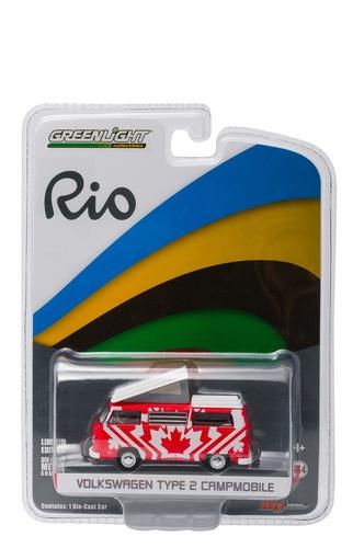 """51037E  Volkswagen T2 bus """" 2016 Rio Olympic Canada """""""