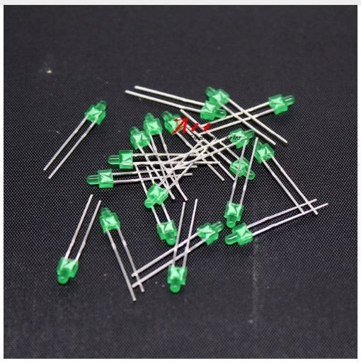 896B  LED Diode Butterfly Nipple Groen