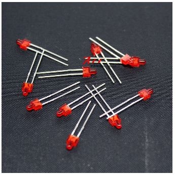 896E  LED Diode Butterfly Nipple Rood