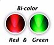 899P  LED Diode Rood/Groen knipperend Bolkop (helder)