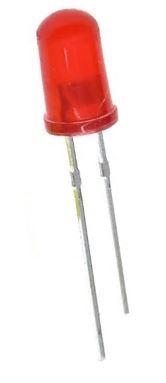 899U  LED Diode Rood Bolkop