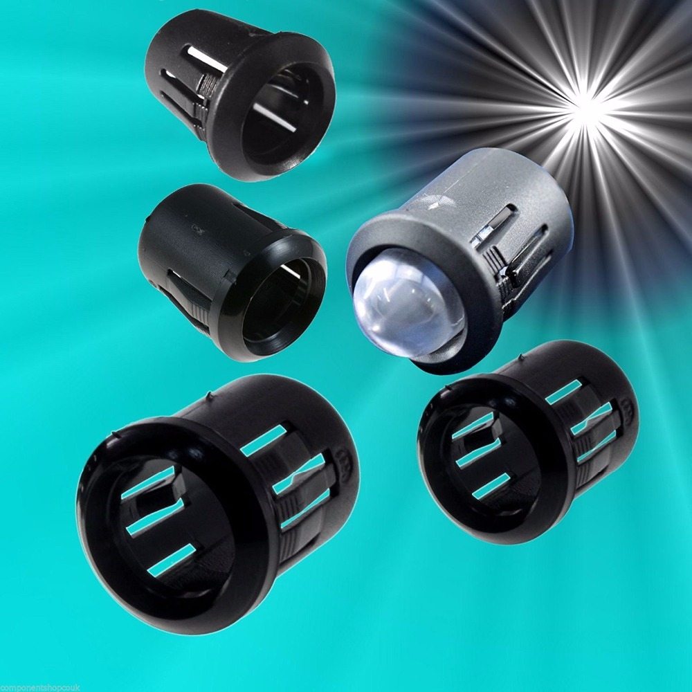 900  LED Montage houder 3 mm Kunststof met Moer