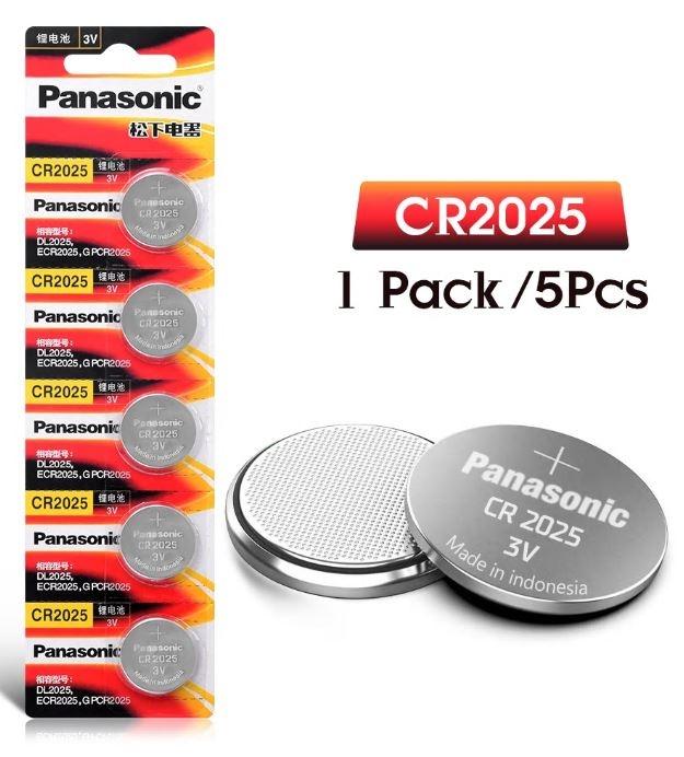 900V Knoopcel batterij CR2025