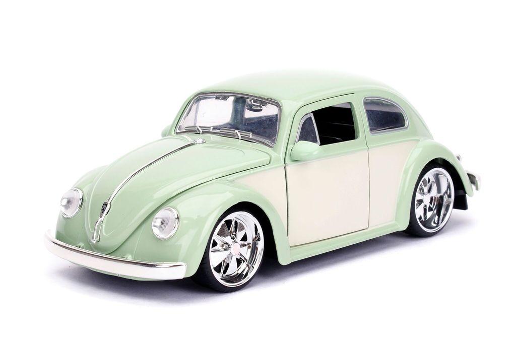 990183  Volkswagen Beetle 1959  Green Cream