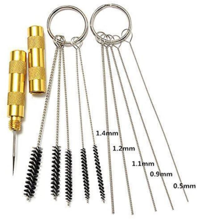 999038  Airbrush reiningings set