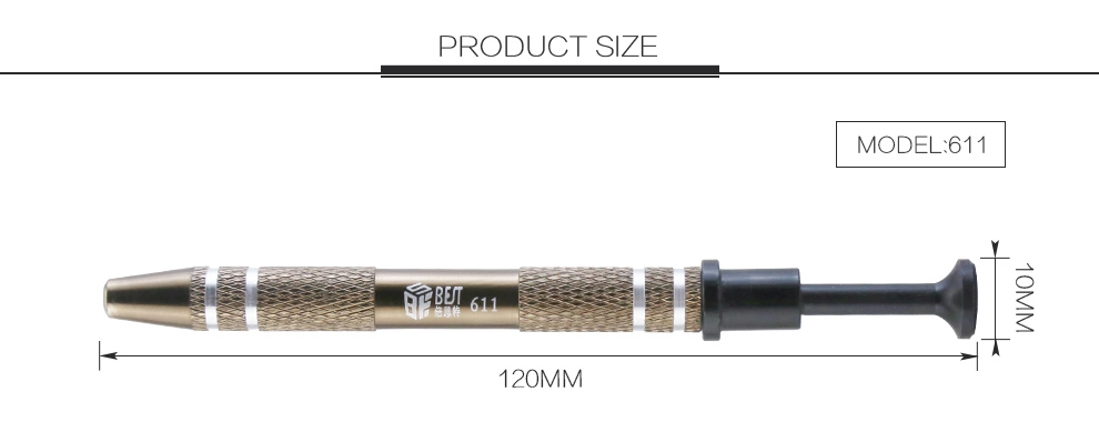 999042  Mini Grijpertje  120 mm