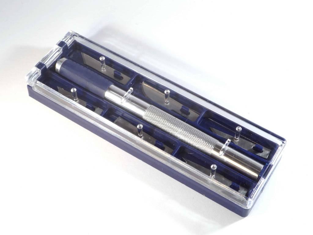999050  Precisie messen set met magneet in houder
