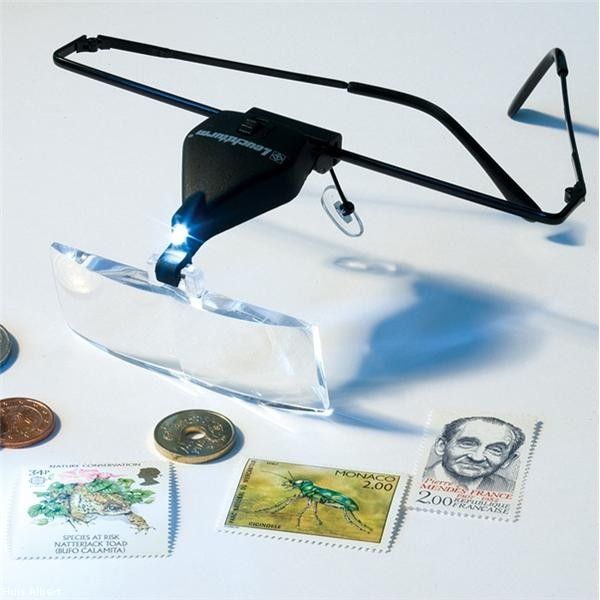 999060  Loupe bril Incl. Led