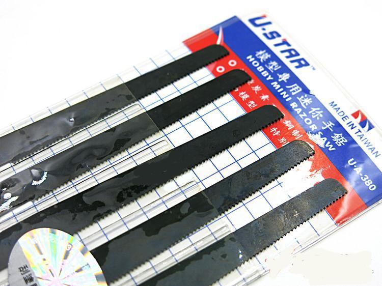 999084  U-Star model handzaagblad 5 x (lang)