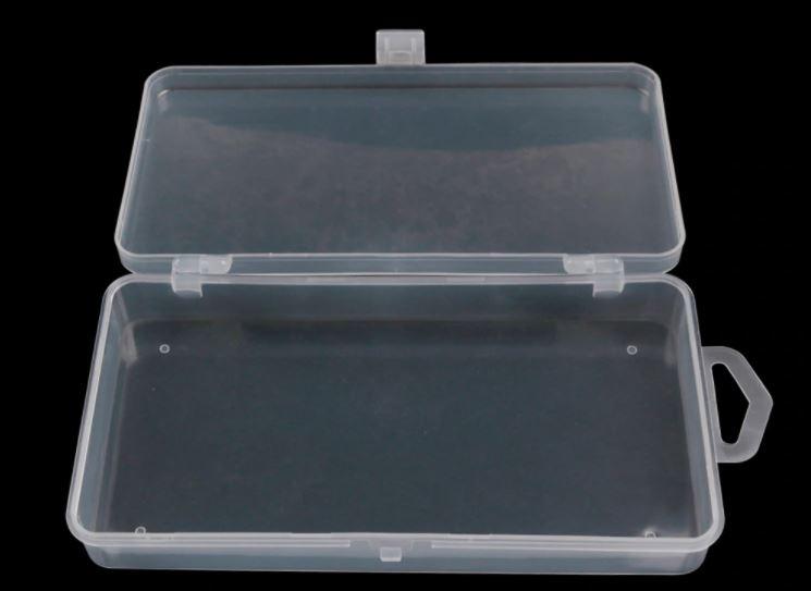 999085  Plastic opbergdoos