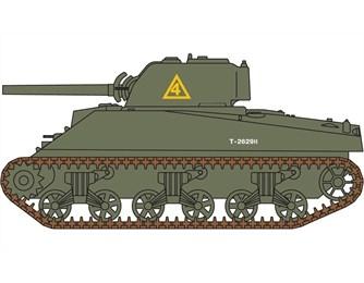 A01303  Sherman M4A2 Tank