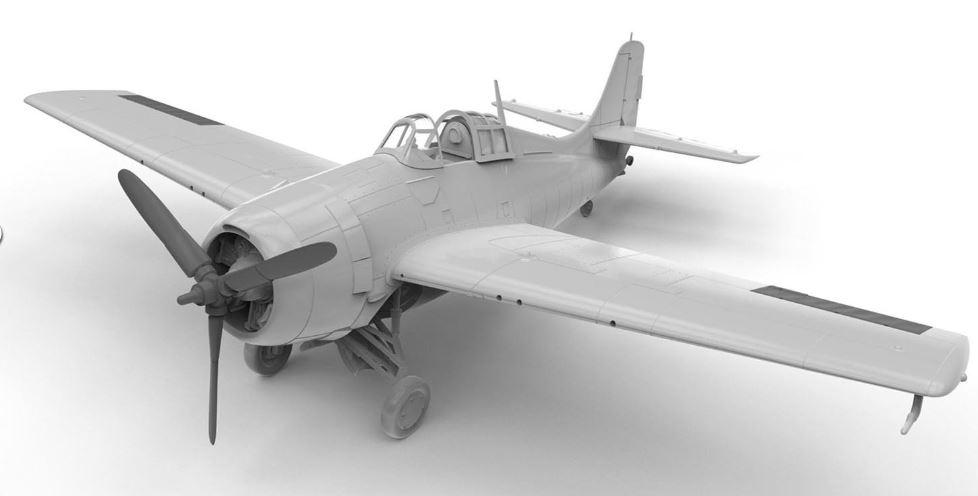 A02070  Grumman F4F-4 Wildcat
