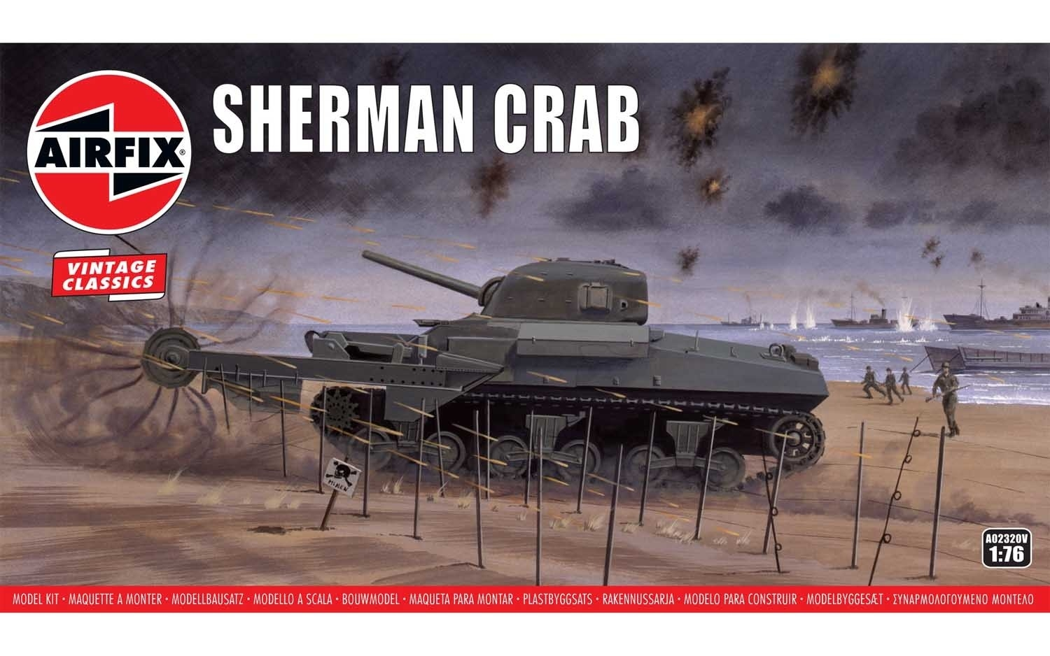 A02320  Sherman Crab