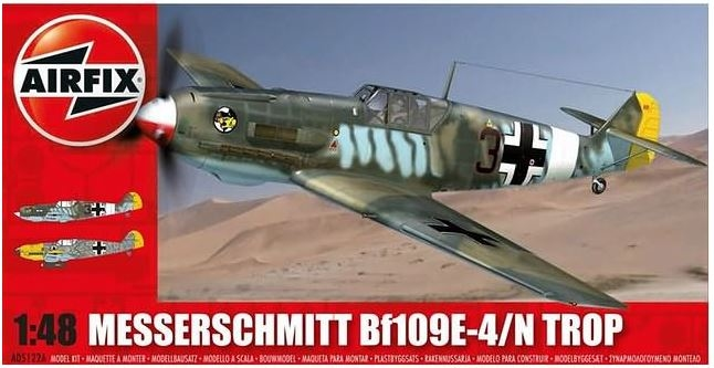 A05122A  Messerschmitt Bf109E-4/N Tropical
