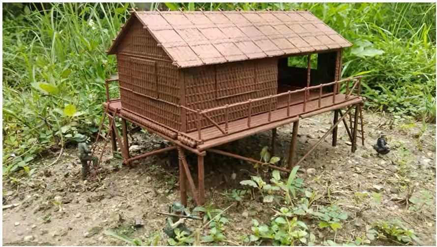 A06382  Bamboo House