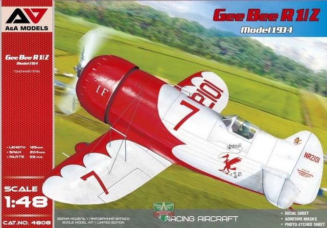 AA4805  Gee Bee R2 (1933-versie) racevliegtuig