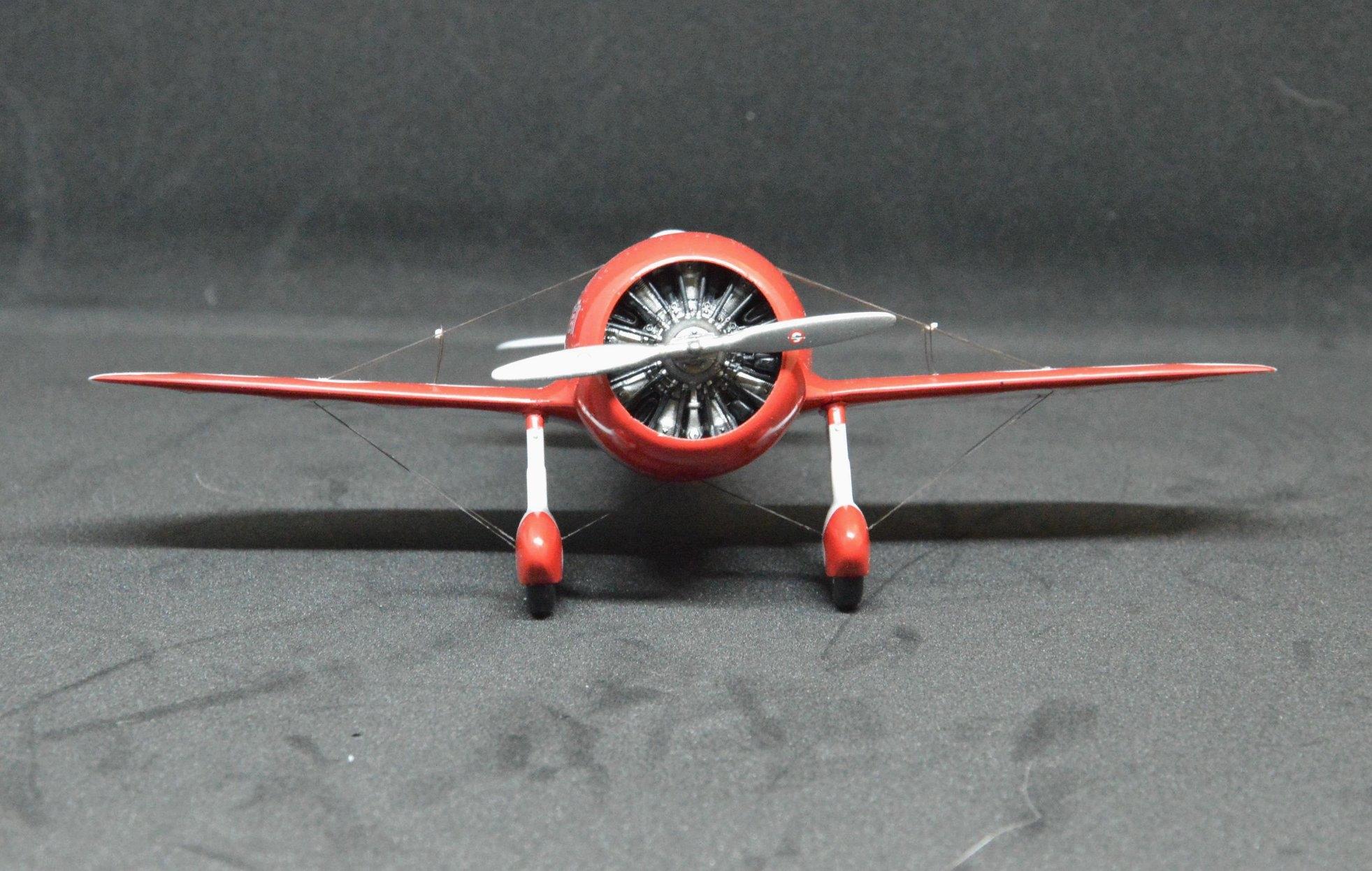AA4807  Gee Bee R1  (1933-versie) racevliegtuig