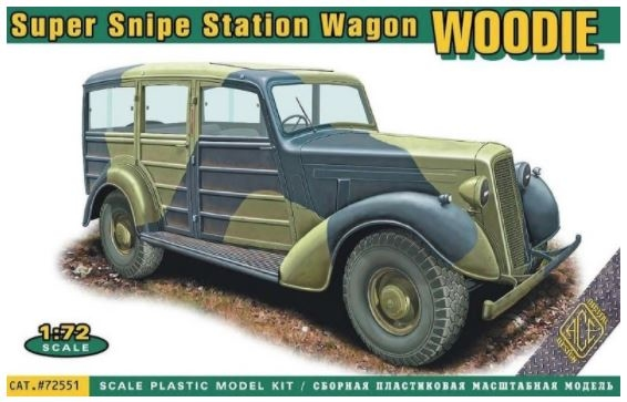 "ACE72551  Super Snipe Station Wagon ""Woodie """