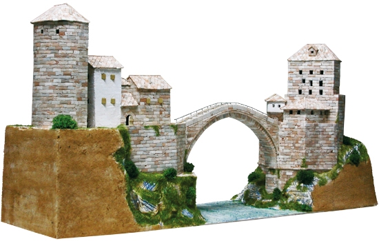 AE1204  Mostar bridge