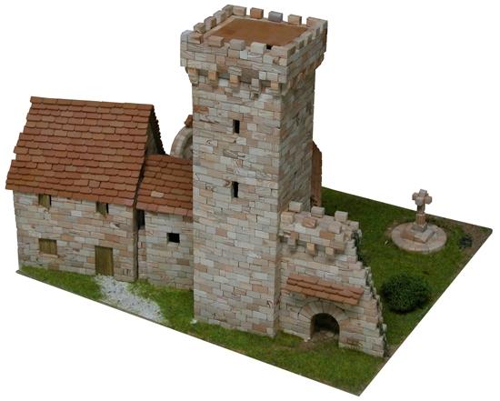 AE1256  Medieval tower