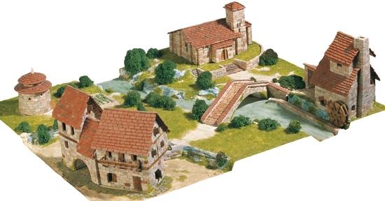 AE1456  Rural Diorama