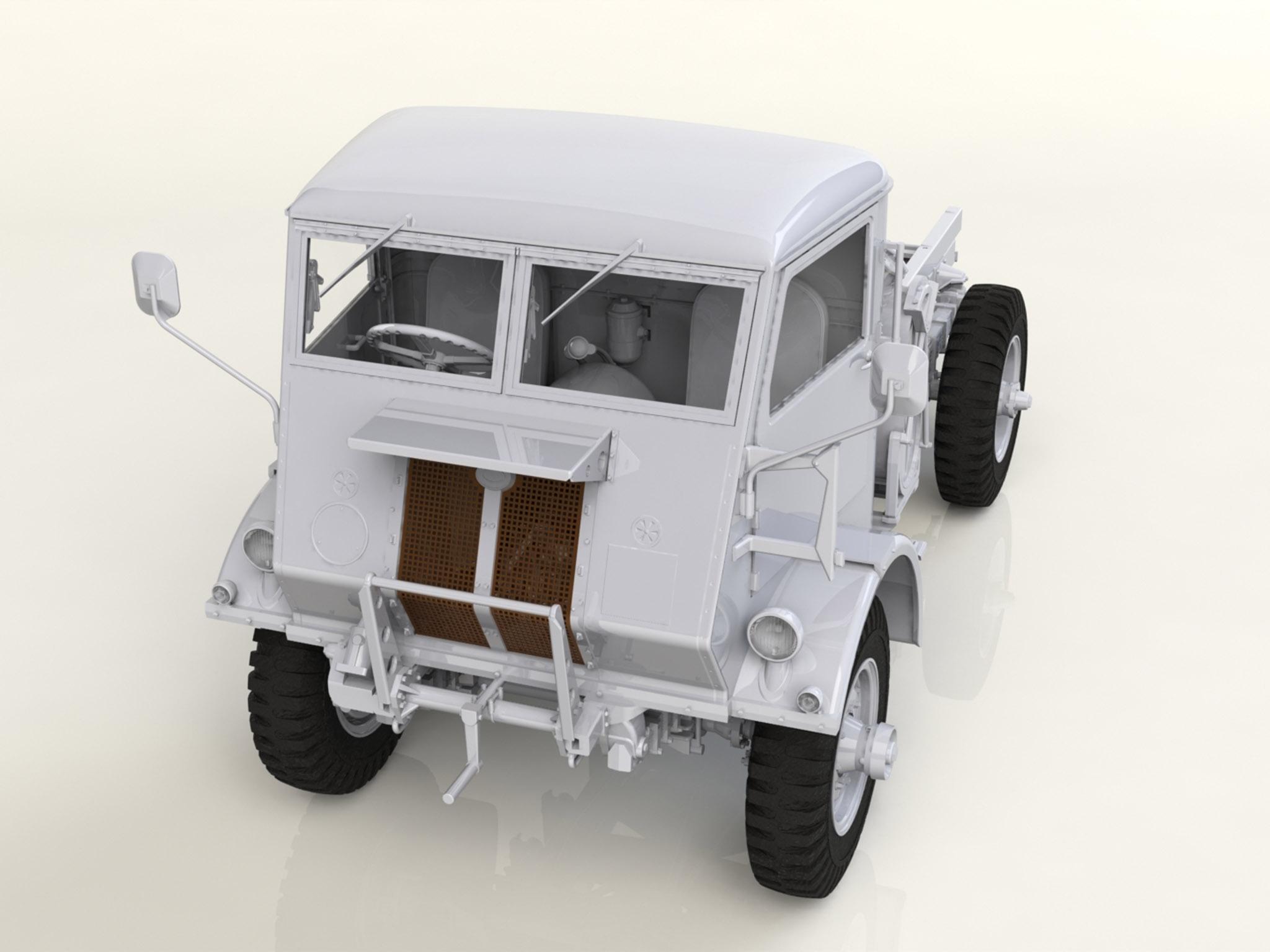 ICMDS3511  WWII British Trucks 3x