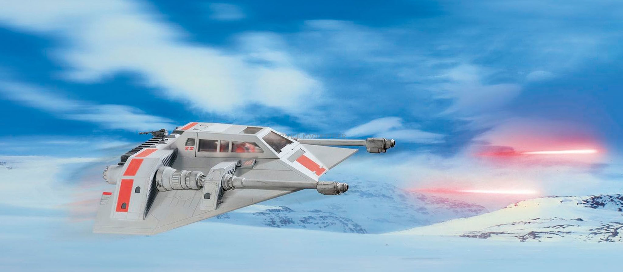"RE5679 Snowspeeder-40th Anniversary""The Empire Strikes Back'"