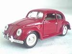 7586  Volkswagen Kever Sedan (rood)
