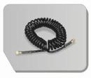 BD22-180  Airbrushslang zwart 180 cm - G1/8-G1/4