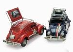 1831  Volkswagen kever met Rek + Wiel (fotolijst spaarpot)