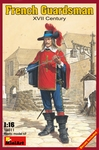 MA16011  French  Guardsman XVII Century