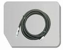 BD30-300  Airbrush slang zwart G1/8 - BD117 Snelkopp. 1/8:
