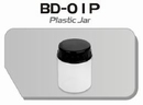 BD01P  Plastic verfpotje met deksel (per stuk) Fengda®