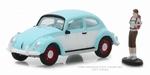 97040F  Volkswagen Beetle with Backpacker Figure