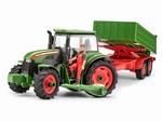 RE00817  Tractor met aanhanger