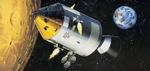 RE3703  Apollo 11 Spacecraft with Interior