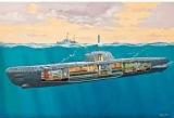 RE5078  Duitse U-Boot Typ XXI met Interieur