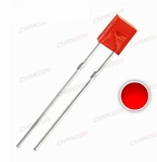 896H  LED  Diode Vierkant Rechthoek 2x5x7mm Rood