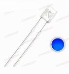 896M  LED  Diode Vierkant Rechthoek 2x5x7mm Blauw (helder)