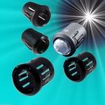 900D  LED Montage houder 3 mm Kunststof