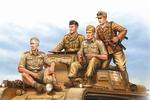 HB84409  German Tropical Panzer Crew
