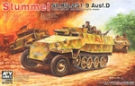 AFV35278  Sd.Kfz. 251/9 Ausf. D early type